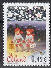 Hologram Starry Sky Christmas Aland Island Åland Finland Mint MNH Stamp 2005