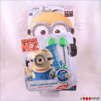 Despicable Me 2 Minion Stuart with Fart Dart action figure Thinkway - worn