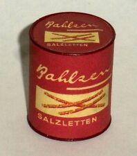 """1:6 large can of German """"BAHLZEN SALZLETTEN""""- pretzels!"""