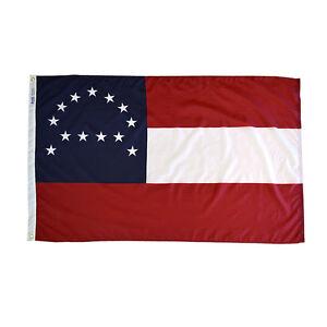 3x5 ft Robert E Lee Headquarters Flag NYLON Army of Northern Virginia USA Made