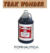 TEAK WONDER CLEANER LT.4 - DETERGENTE TEAK NAUTICO