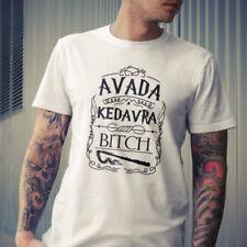 AVADA KEDAVRA T-shirt Harry Potter Tops Unisex Curse Spell Tees Women Shirt AU