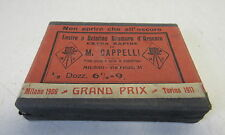 VECCHIA SCATOLA PER LASTRE FOTOGRAFICHE M.CAPPELLI  1911