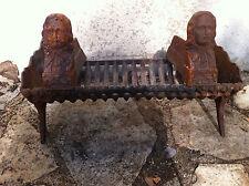PORTE BUCHES ET CHENETS ANCIENS