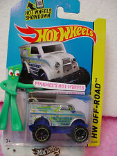 Case P/Q 2014 i Hot Wheels MONSTER DAIRY DELIVERY #122✿Silver;Green/Blue~
