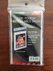 Ultra PRO 84005 One Touch Resealable Bags.12 units shipped. Team Bags 12 Qty.