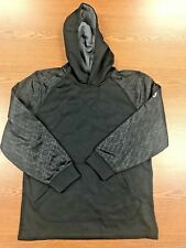 Majestic Adult Premier Home Plate Hooded Tech Fleece - NWOT - I329 - AXL - BLACK