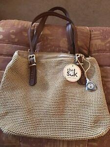 Brand New The Sak Women's Crochet Shoulder Bag