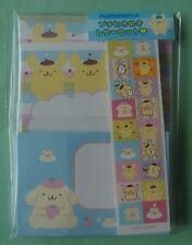 Sanrio Pom Pom Purin Small Letter Set Brand-New Pack