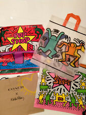 Collection Keith Haring Bags, Vintage 80's Pop Shop, Paper Coach.