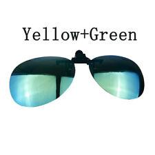 Polarized Clip On Fishing Driving Sunglasses Glasses Sports Lens Glasses UV400