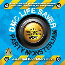 DMC Life Saver Monsterjam 1 Dance Party Continuous Mix DJ CD Mixed By Allstar