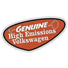 GENUINE ALTO EMISSIONE Volkswagen Adesivo da oilcan VW rat t4 t5 golf