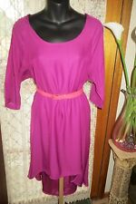 VINTAGE Style   ~ COTTON ON  ~ Pink Hi-Lo Hemline DRESS * Size S * REDUCED *
