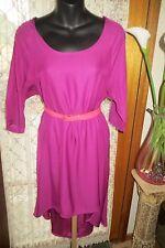 VINTAGE Style   ~ COTTON ON  ~ Pink Hi-Lo Hemline DRESS * Size L * REDUCED *