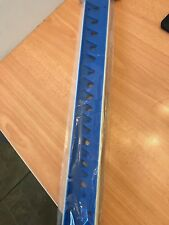 Laser Tools BLUE Sharks Teeth Spanner Wrench Holds 20 Wrench in Holder Rack