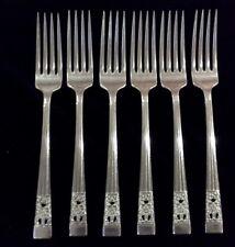 Hampton Court Community Plate set of 6 large table forks