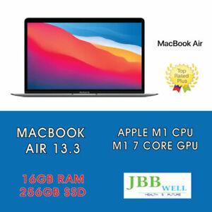 Apple MacBook Air 13in (256GB SSD, Apple M1, 16GB) Laptop - Space Gray