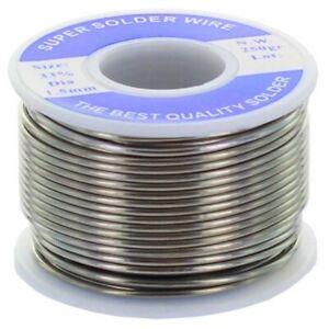 Rocchetto 250 gr di stagno per saldare 33% filo 1,5 mm per saldatore elettrico