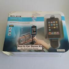 Belkin Nib Usb Z258 TuneBase 2009 3G Phone Ipod Aux-In Car Stereo Kit
