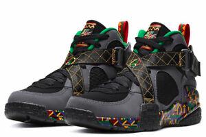 Nike Air Raid 'Peace' DarkGrey/Multi-Color/PineGreen/Black DC1494-001 Sz 10 NWT