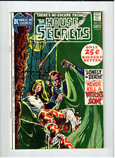 Dc Comics House Of Secrets #93 - G/Vg 1971 vintage comic Wrightson, Aparo, Toth