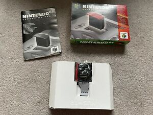 Nintendo 64 N64 Expansion Pak Pack Boxed With Tool And Manual Tested Working