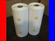 4 4x6 Zebra/Eltron Direct Thermal Rolls 250/1000 Labels 8 free fragile labels