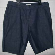 Womens J. Crew Navy Bermuda Shorts Size 6 Cool & Comfy NEW