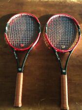 2 Wilson Pro Staff 97 Tennis Racquet's