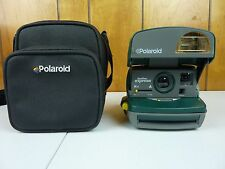 Polaroid Vintage Instant Camera One Step Express Type 600 Film Green