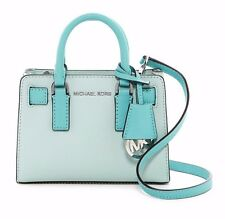 $178 NWT Michael Kors Dillon Women's TZ Small Leather Crossbody Blue Bag