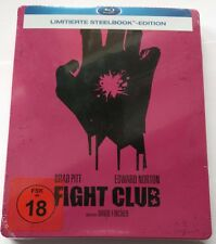 FIGHT CLUB | BLU-RAY Limited Steelbook | Edward Norton Brad Pitt | NOUVEAU NEW