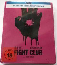 Fight Club | Blu-Ray Limited Steelbook | Edward Norton Brad Pitt | NEU NEW