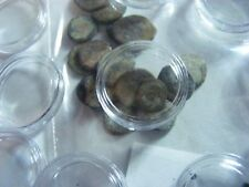 Lot of 18  Ancient Roman etc. SMALL Coins, used condition.. & clear capsules(Y).