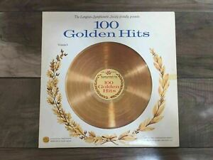 Vintage Longines Symphonette Society's 100 Golden Hits Volume 3 Record Vinyl LP