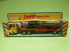 IMPY LONE STAR 181 TRUCK WITH CRANE  - YELLOW + RED 1:87? - NEAR MINT IN BOX
