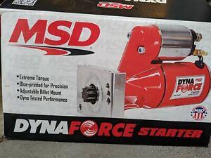 MSD 5093 DynaForce Starter Ford FE 390, 427, 428 Engines