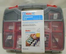 RadioShack Component Kit 2 to Build Experiments 12-24 in MAKE:Electronics Book
