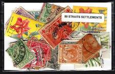Straits Settlements 50 timbres différents