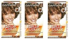 3 GARNIER BELLE COLOR TINTURA CREMA COLORANTE CAPELLI BIONDO SCURO NATURALE N. 5