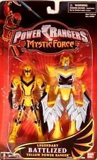 Power Rangers Mystic Force Legendary Battlized Yellow Power Ranger New 2006