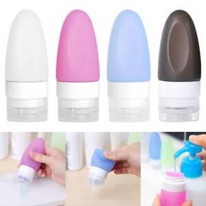 Reiseflasche Tragbar Leere Kosmetik Flasche Silikon Flüssigkeitsbehälter