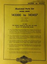 Sears David Bradley Tractor & Engine Owner & Parts (2 Manuals) 917.60616 & 60617