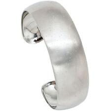 Echte Edelmetall-Armbänder ohne Steine im Armspange-Stil aus Sterlingsilber für Damen