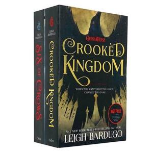 Grisha Series 2 Books six of crows and Crooked Kingdom Set By Leigh Bardugo