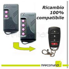 Telecomando radiocomando compatibile Fadini Astro 43/4 TR apricancello 4316