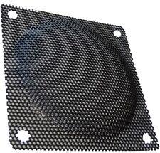 2x Rejilla de protección 80x80mm para ventilador de caja ordenador PC
