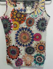 Polyester Tank, Cami Hand-wash Only Multi-Colored Tops & Blouses for Women