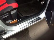 Renault Captur 2013Up Chrome Door Sill Scratch Guard 4Door S.Steel